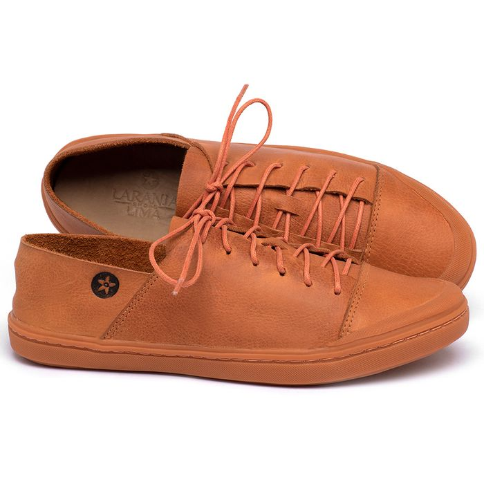 Laranja_Lima_Shoes_Sapatos_Femininos_Tenis_Cano_Baixo_em_Couro_Laranja_-_Codigo_-_141213_1