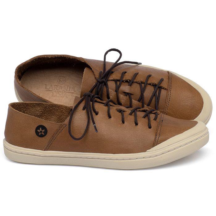 Laranja_Lima_Shoes_Sapatos_Femininos_Tenis_Cano_Baixo_em_Couro_Caramelo_-_Codigo_-_141213_1