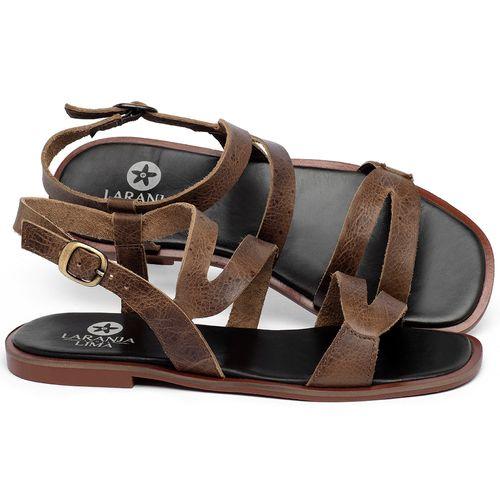 Laranja_Lima_Shoes_Sapatos_Femininos_Sandalia_Rasteira_Flat_em_Couro_Marrom_-_Codigo_-_136113_1