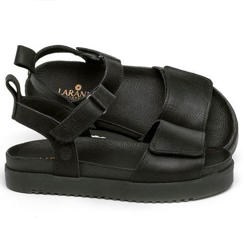 Laranja_Lima_Shoes_Sapatos_Femininos_Sandalia_Rasteira_Flat_em_Couro_Preto_-_Codigo_-_137354_1