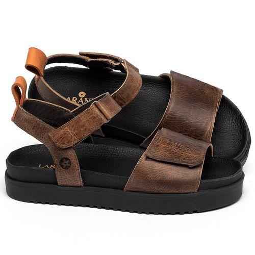 Laranja_Lima_Shoes_Sapatos_Femininos_Sandalia_Rasteira_Flat_em_Couro_Marrom_-_Codigo_-_137354_1