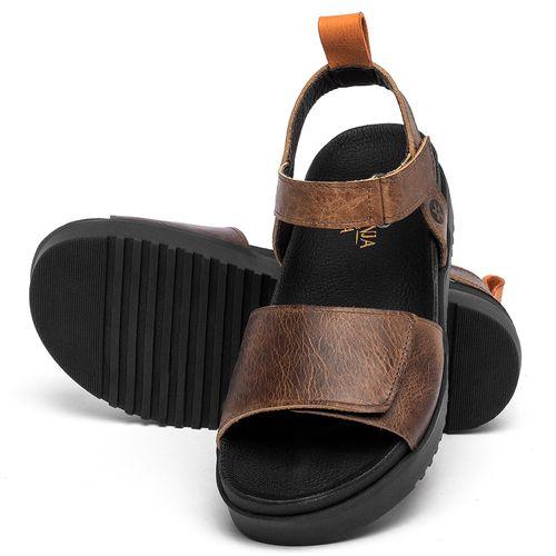 Laranja_Lima_Shoes_Sapatos_Femininos_Sandalia_Rasteira_Flat_em_Couro_Marrom_-_Codigo_-_137354_2