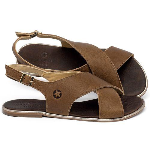 Laranja_Lima_Shoes_Sapatos_Femininos_Sandalia_Rasteira_Flat_em_Couro_Caramelo_-_Codigo_-_3728_1