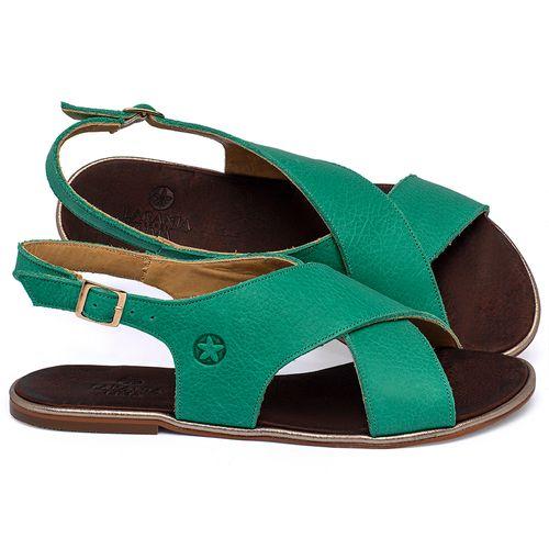 Laranja_Lima_Shoes_Sapatos_Femininos_Sandalia_Rasteira_Flat_em_Couro_Verde_-_Codigo_-_3728_1