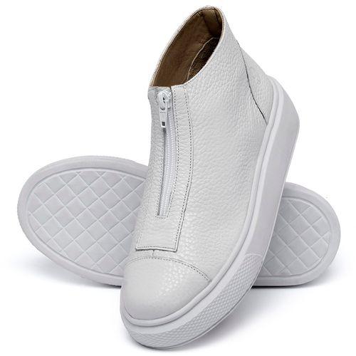 Laranja_Lima_Shoes_Sapatos_Femininos_Tenis_Cano_Alto_em_Couro_Branco_-_Codigo_-_3750_2