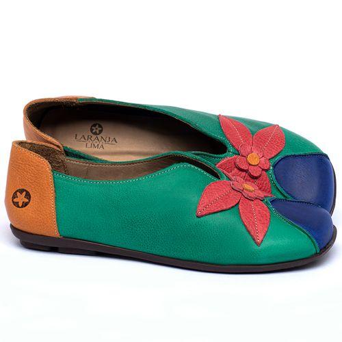 Laranja_Lima_Shoes_Sapatos_Femininos_Sapatilha_Bico_Quadrado_em_Couro_Colorido_-_Codigo_-_9493_1