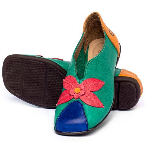 Laranja_Lima_Shoes_Sapatos_Femininos_Sapatilha_Bico_Quadrado_em_Couro_Colorido_-_Codigo_-_9493_2