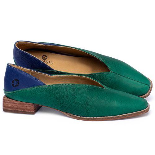 Laranja_Lima_Shoes_Sapatos_Femininos_Sapato_Laranja_Lima_Shoes_em_Couro_Verde_-_Codigo_-_9499_1