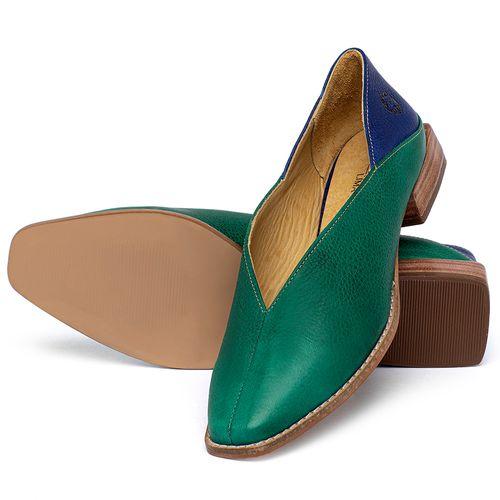 Laranja_Lima_Shoes_Sapatos_Femininos_Sapato_Laranja_Lima_Shoes_em_Couro_Verde_-_Codigo_-_9499_2