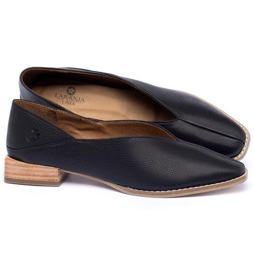 Laranja_Lima_Shoes_Sapatos_Femininos_Sapato_Laranja_Lima_Shoes_em_Couro_Preto_-_Codigo_-_9499_1