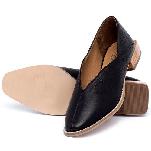 Laranja_Lima_Shoes_Sapatos_Femininos_Sapato_Laranja_Lima_Shoes_em_Couro_Preto_-_Codigo_-_9499_2