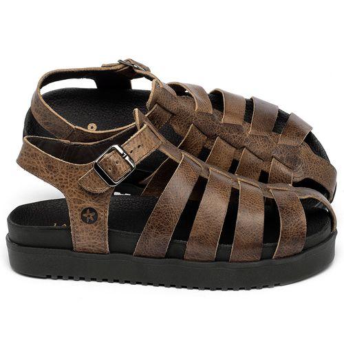 Laranja_Lima_Shoes_Sapatos_Femininos_Sandalia_Rasteira_Flat_em_Couro_Marrom_-_Codigo_-_137360_1