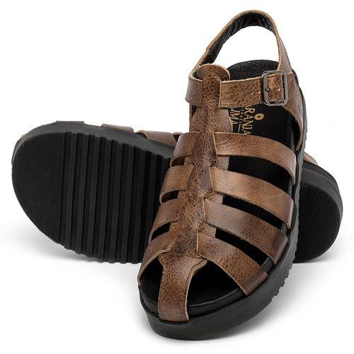 Laranja_Lima_Shoes_Sapatos_Femininos_Sandalia_Rasteira_Flat_em_Couro_Marrom_-_Codigo_-_137360_2