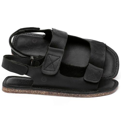 Laranja_Lima_Shoes_Sapatos_Femininos_Sandalia_Rasteira_Flat_em_Couro_Preto_-_Codigo_-_141208_1