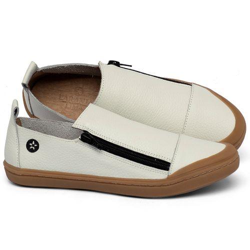 Laranja_Lima_Shoes_Sapatos_Femininos_Tenis_Cano_Baixo_em_Couro_Off-White_-_Codigo_-_141214_1