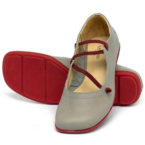 Laranja_Lima_Shoes_Sapatos_Femininos_Sapatilha_Bico_Quadrado_em_Couro_Cinza_-_Codigo_-_9471_2