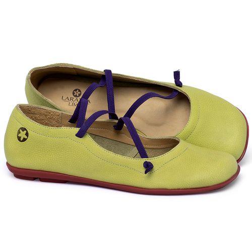 Laranja_Lima_Shoes_Sapatos_Femininos_Sapatilha_Bico_Quadrado_em_Couro_Colorido_-_Codigo_-_9471_1