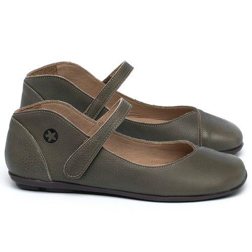 Laranja_Lima_Shoes_Sapatos_Femininos_Sapatilha_Bico_Quadrado_em_Couro_Verde_-_Codigo_-_9495_1