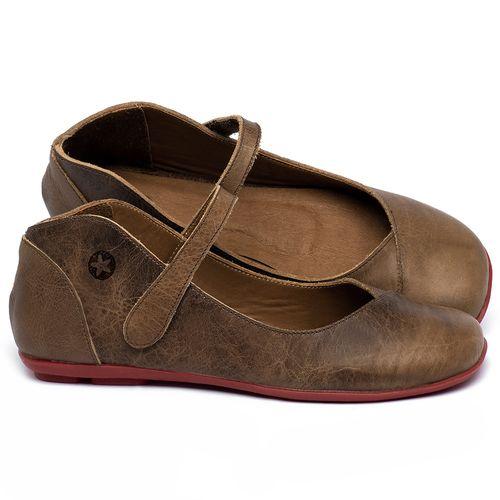 Laranja_Lima_Shoes_Sapatos_Femininos_Sapatilha_Bico_Quadrado_em_Couro_Marrom_-_Codigo_-_9495_1