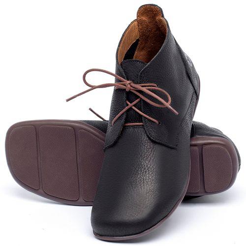 Laranja_Lima_Shoes_Sapatos_Femininos_Flat_Boot_em_Couro_Preto_-_Codigo_-_9496_2