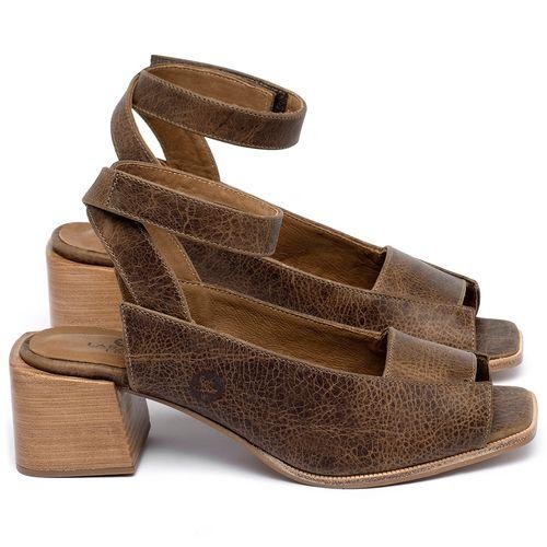 Laranja_Lima_Shoes_Sapatos_Femininos_Sandalia_Laranja_Lima_Shoes_Classic_em_Couro_Marrom_-_Codigo_-_9500_1