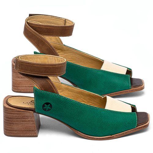 Laranja_Lima_Shoes_Sapatos_Femininos_Sandalia_Laranja_Lima_Shoes_Classic_em_Couro_Verde_-_Codigo_-_9500_1