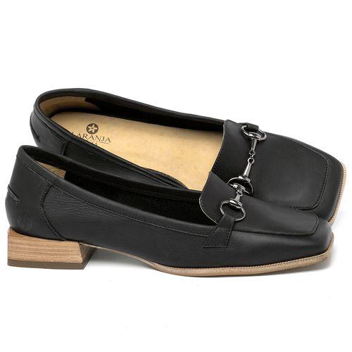 Laranja_Lima_Shoes_Sapatos_Femininos_Sapato_Laranja_Lima_Shoes_em_Couro_Preto_-_Codigo_-_9504_1
