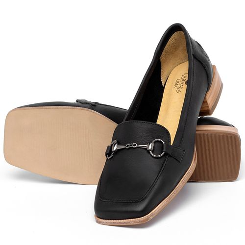 Laranja_Lima_Shoes_Sapatos_Femininos_Sapato_Laranja_Lima_Shoes_em_Couro_Preto_-_Codigo_-_9504_2