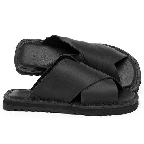 Laranja_Lima_Shoes_Sapatos_Femininos_Sandalia_Rasteira_Flat_em_Couro_Preto_-_Codigo_-_141222_1