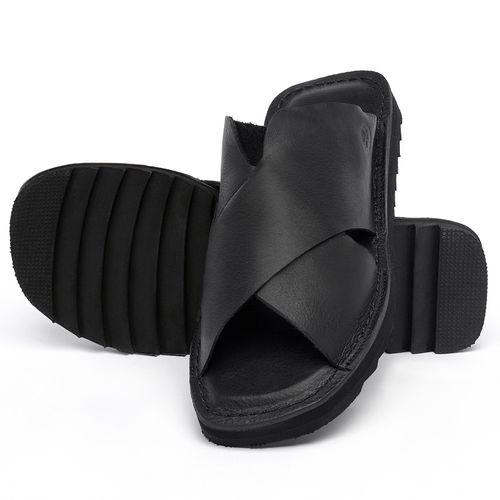 Laranja_Lima_Shoes_Sapatos_Femininos_Sandalia_Rasteira_Flat_em_Couro_Preto_-_Codigo_-_141222_2