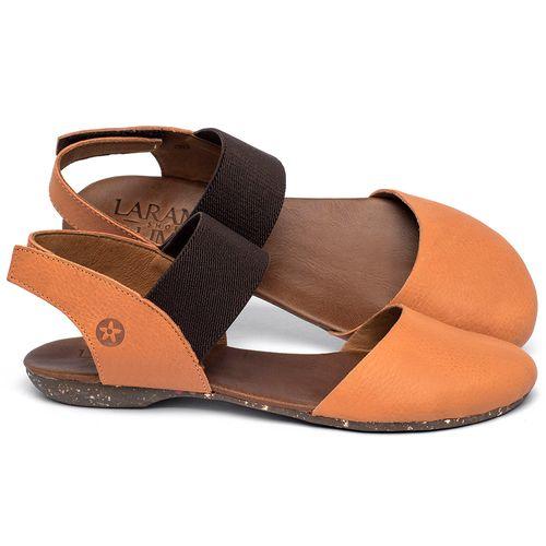 Laranja_Lima_Shoes_Sapatos_Femininos_Sapatilha_Bico_Redondo_em_Couro_Laranja_-_Codigo_-_148027_1