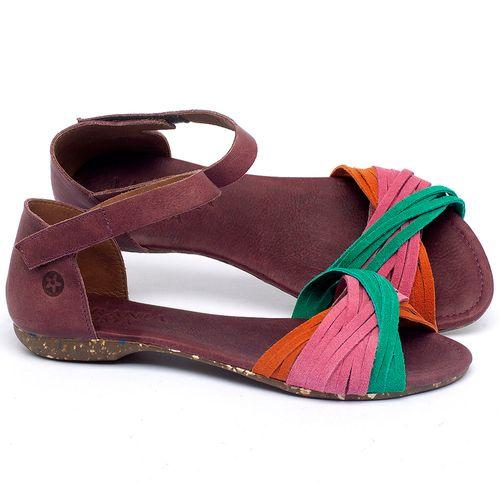 Laranja_Lima_Shoes_Sapatos_Femininos_Sandalia_Rasteira_Flat_em_Couro_Colorido_-_Codigo_-_148028_1