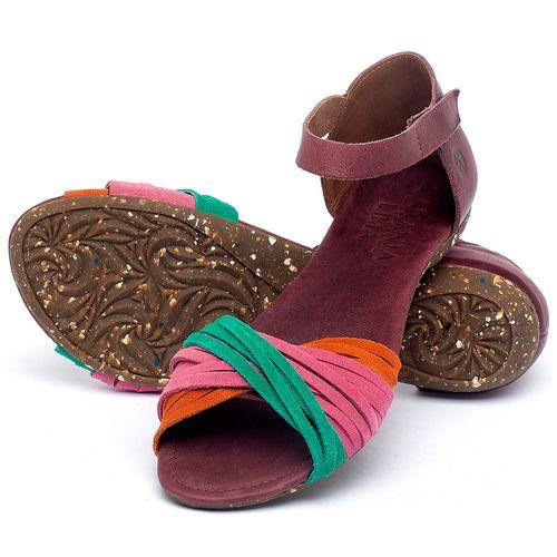 Laranja_Lima_Shoes_Sapatos_Femininos_Sandalia_Rasteira_Flat_em_Couro_Colorido_-_Codigo_-_148028_2