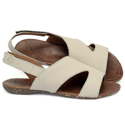 Laranja_Lima_Shoes_Sapatos_Femininos_Sandalia_Rasteira_Flat_em_Couro_Off-White_-_Codigo_-_148048_1