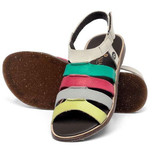 Laranja_Lima_Shoes_Sapatos_Femininos_Sandalia_Rasteira_Flat_em_Couro_Colorido_-_Codigo_-_137332_2