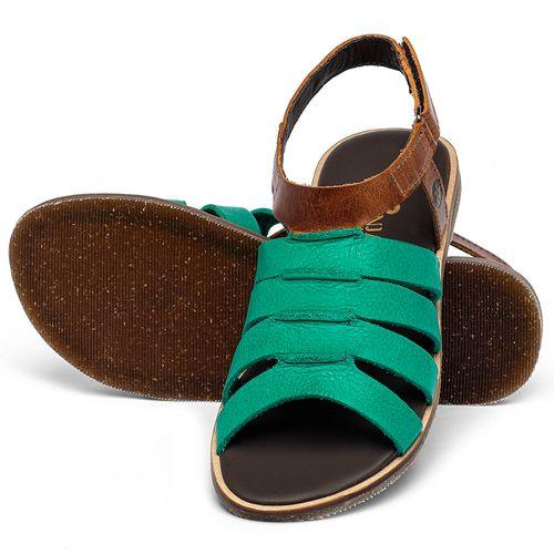 Laranja_Lima_Shoes_Sapatos_Femininos_Sandalia_Rasteira_Flat_em_Couro_Verde_-_Codigo_-_137332_2