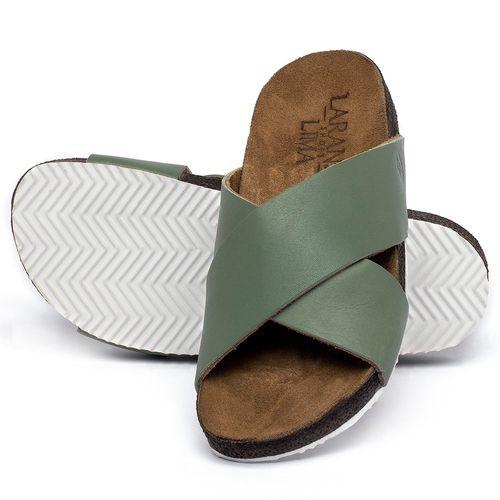 Laranja_Lima_Shoes_Sapatos_Femininos_Sandalia_Rasteira_Flat_em_Couro_Verde_-_Codigo_-_148043_2