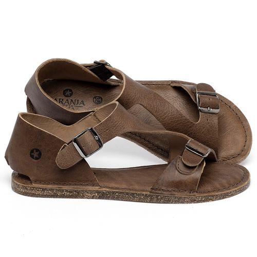Laranja_Lima_Shoes_Sapatos_Femininos_Sandalia_Rasteira_Flat_em_Couro_Marrom_-_Codigo_-_141020_1