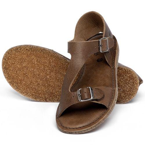 Laranja_Lima_Shoes_Sapatos_Femininos_Sandalia_Rasteira_Flat_em_Couro_Marrom_-_Codigo_-_141020_2
