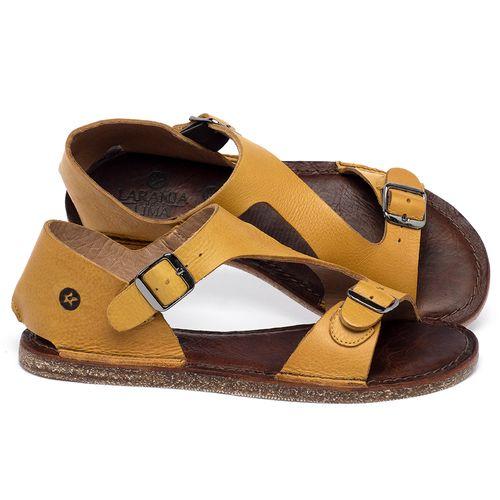 Laranja_Lima_Shoes_Sapatos_Femininos_Sandalia_Rasteira_Flat_em_Couro_Amarelo_-_Codigo_-_141020_1